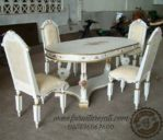 Set Kursi Makan Duco Putih