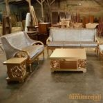 Sofa Tamu Minimalis Ukir Arimbi