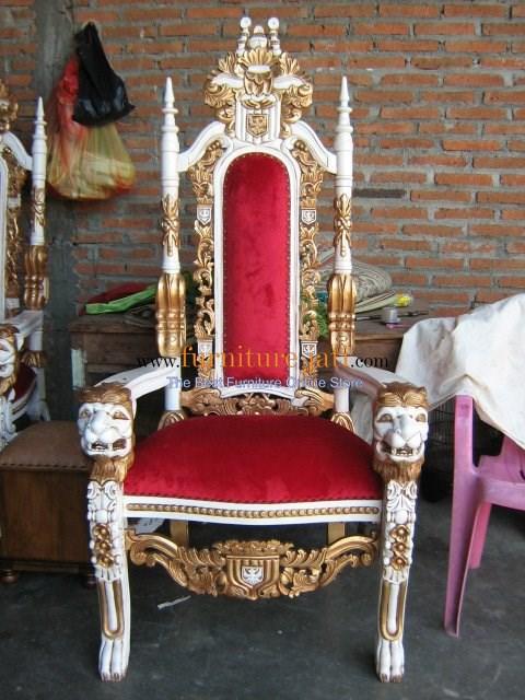 Kursi Raja Singa, Kursi Raja, Kursi Makan Raja
